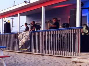 E Street Shuffle Concert on the Bay Beach