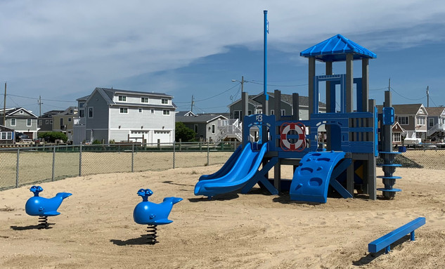 New playground is installed