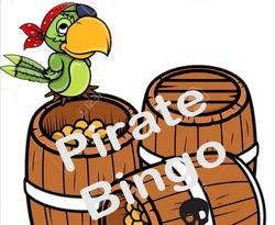 Pirate Bingo - a crowd favorite!