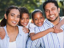 multi cultural family