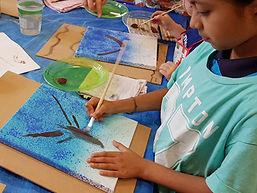 Blockhouse Bay Community Centre kids art classes