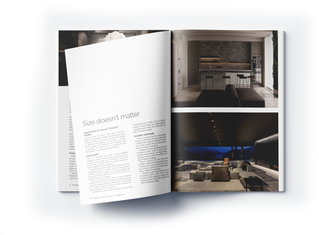 Modern Nordic Interior page 6 and 7