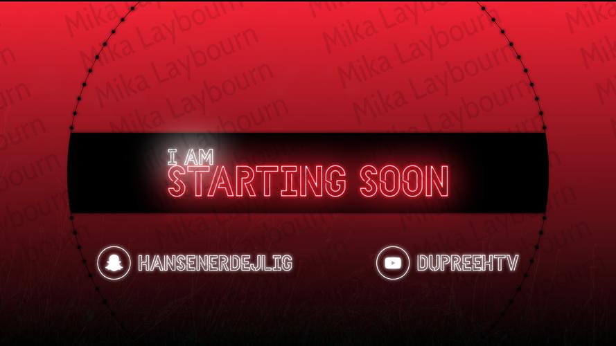Starting Soon