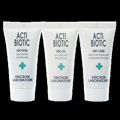 Набор для жирной кожи Mini-kit acti-biotic D866