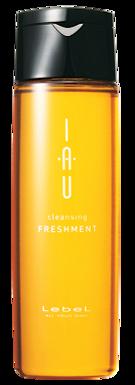 Охлаждающий аромашампунь для жирной кожи головы IAU cleansing Freshment