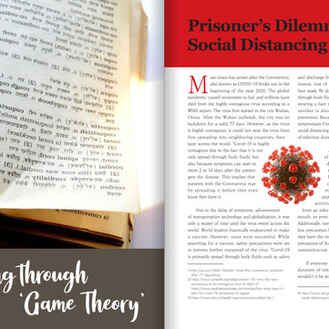 Prisoner's Dilemma in Social Distancing (Eng. & Kor.)