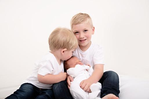 Newborn Photo Session - in Sarah West Photography Studio - Bracknell, Berkshire