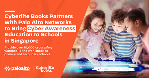 Cyberite Books partners with Palo Alto Networks to bring cyber awareness to SG