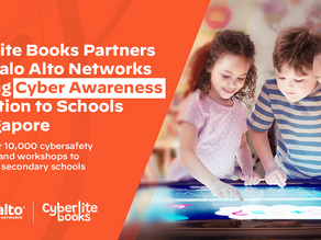 Cyberlite Books partners with Palo Alto Networks to bring cyber awareness education to schools in SG