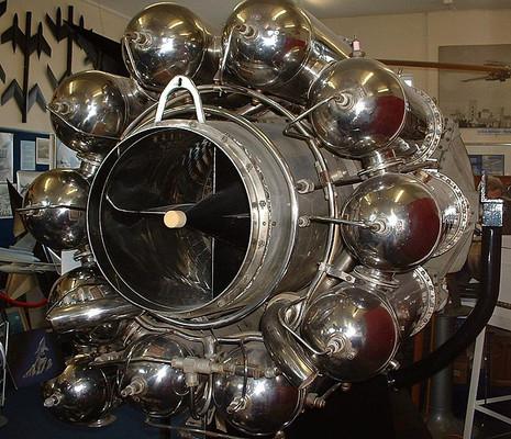 Whittle Jet Engine W2-700