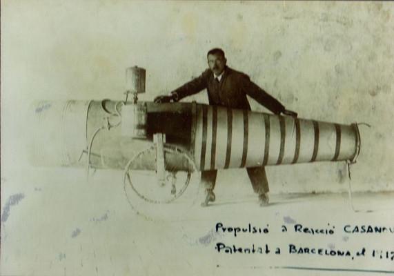 Pulsejet of Ramon Casanova