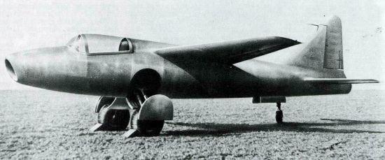 Heinkel He 178, the world's first jet-powered aircraft