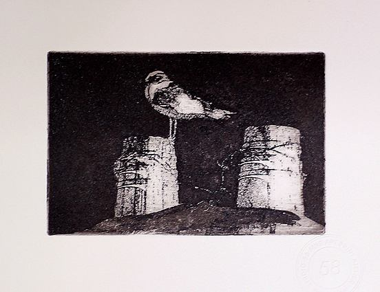been on with this today its an aquatint