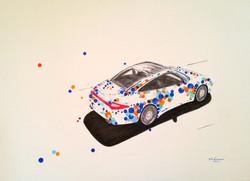 997 4S Targa bleue