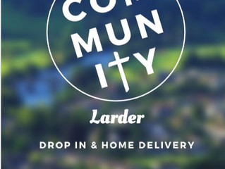 Community Larder - Drop in and Home Delivery