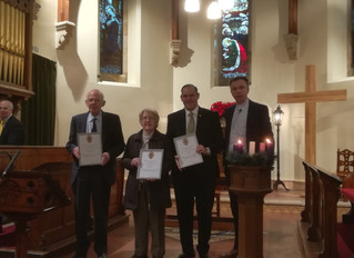 Church of Scotland Long Service Awards