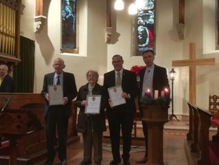Church of Scotland Long Service Awards