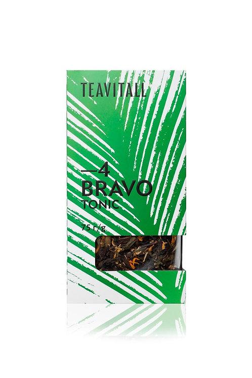 TEAVITALL BRAVO 4 ПАЧКА 75 Г Чайный напиток тонизирующий