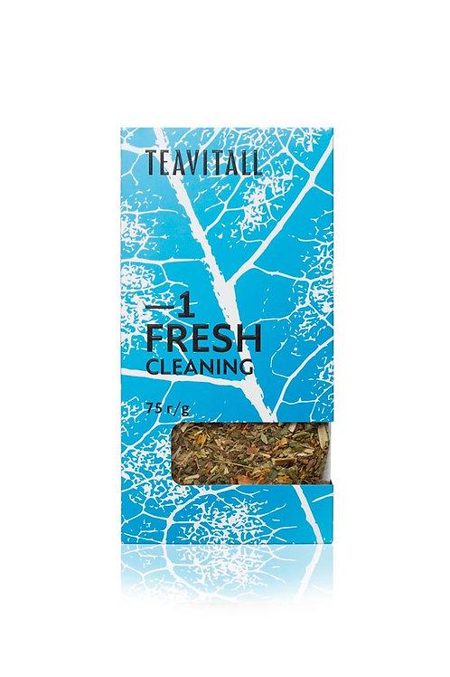 TEAVITALL FRESH 1 ПАЧКА 75Г Чайный напиток очищающий