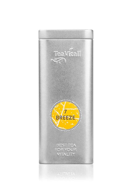 TEAVITALL BREEZE 7, МЕТАЛЛИЧЕСКАЯ БАНКА 75 Г напиток антиоксидантный