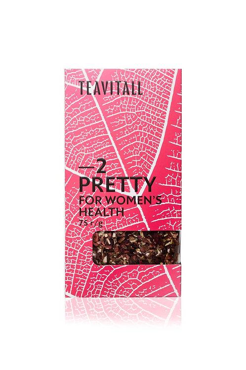 TEAVITALL PRETTY 2 ПАЧКА 75 Г Чайный напиток для женского здоровья