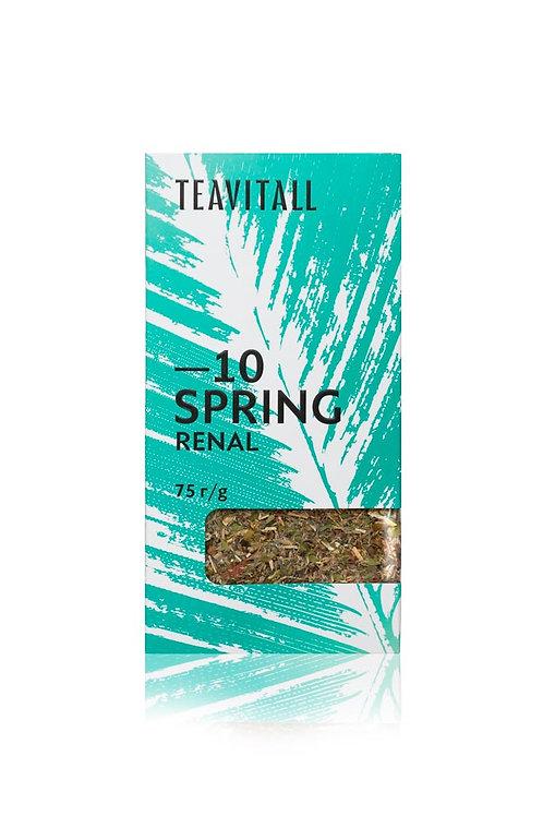 TEAVITALL SPRING 10 ПАЧКА 75 Г Чайный напиток почечный