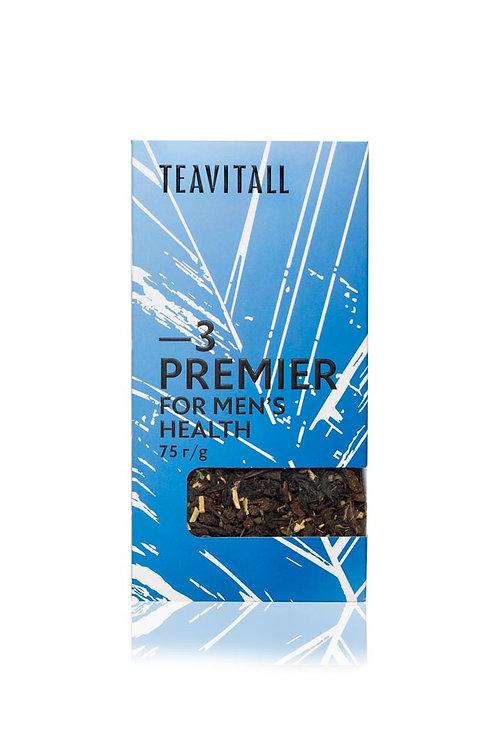 TEAVITALL PREMIER 3 ПАЧКА 75 Г Чайный напиток для мужского здоровья