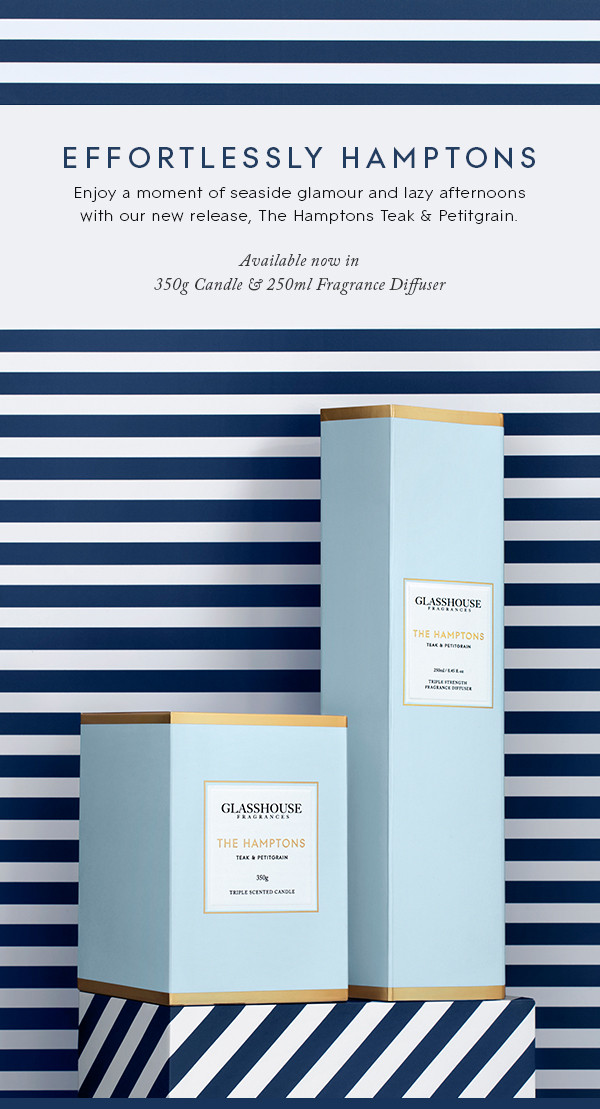Discover Glasshouse Fragrances The Hamptons
