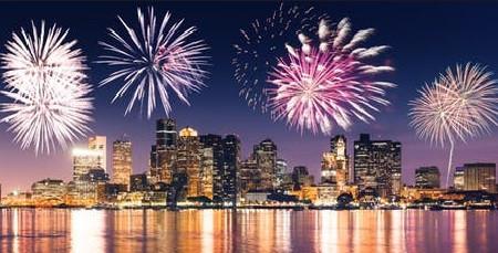Labor Day Fireworks Boston Harbor Thurs 8/30