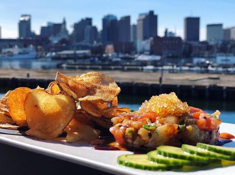 tuna tartare seafood