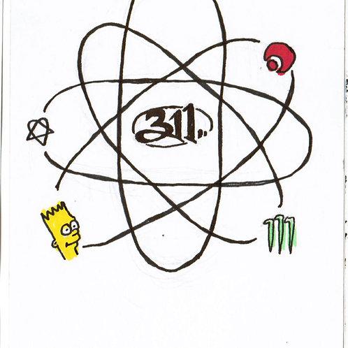 Bart x 311 Atom (DRAWING)