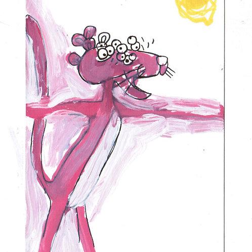 pink panther (DRAWING)