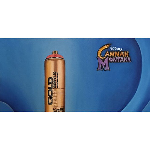 Cannah Montana (PAINTING)