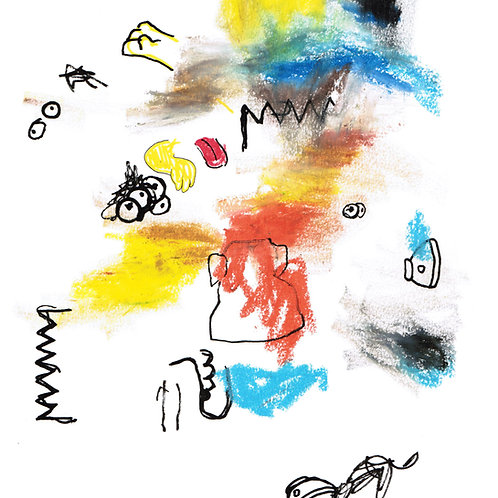 Abstract Bart 2 (DRAWING)