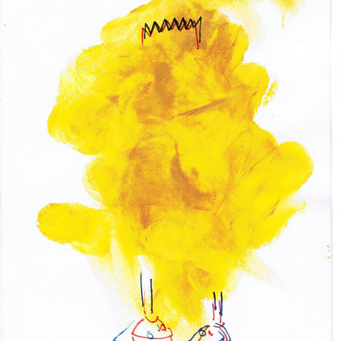 Abstract Bart Study (DRAWING)