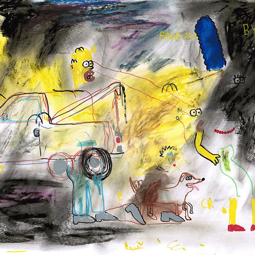 Total Recall Simpsons (DRAWING)