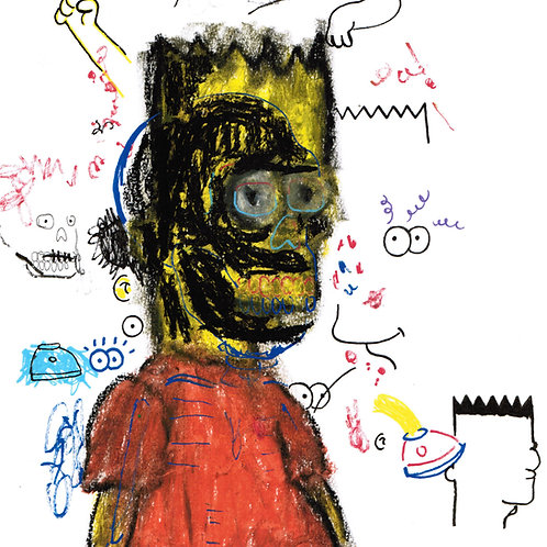 Abstract Bart (DRAWING)