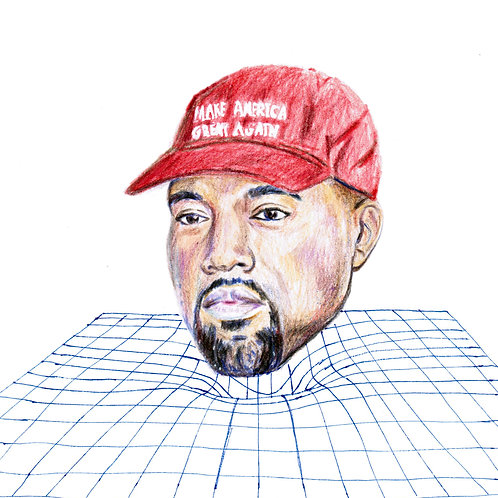Gravity Well Yeezy (DRAWING)
