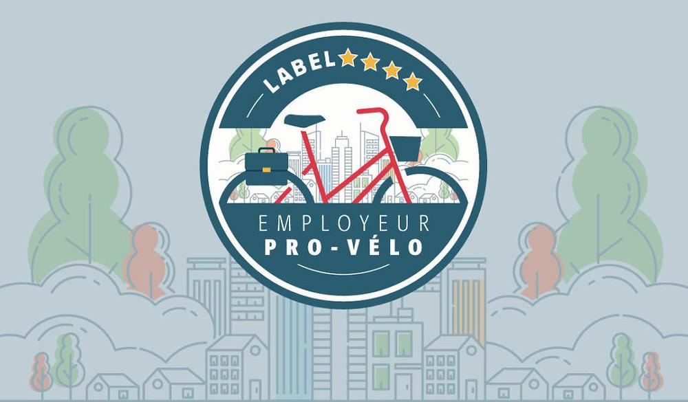 Logo Label Employeur pro-vélo