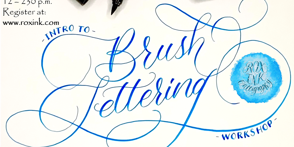 Intro to Brush Lettering Workshop