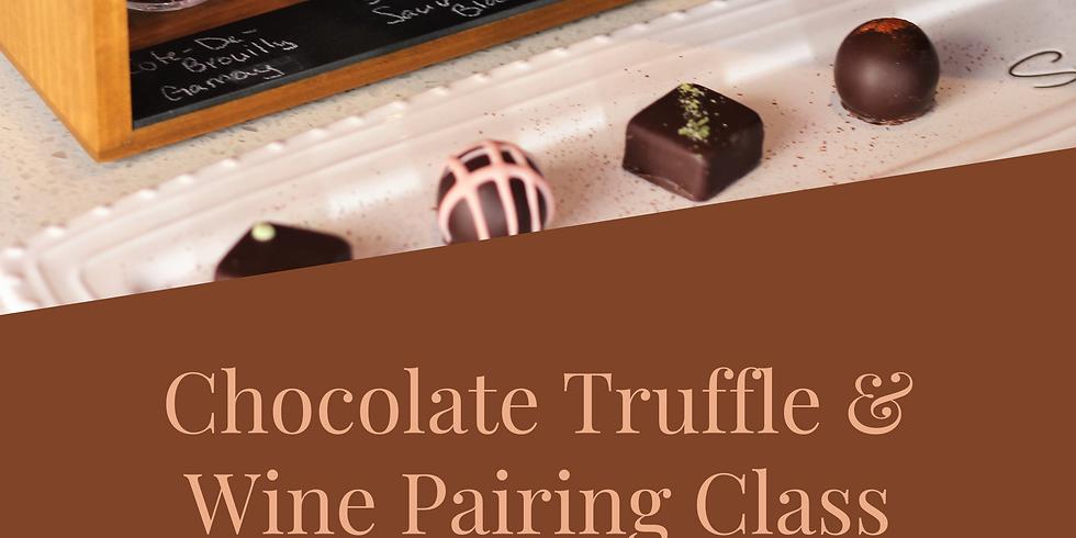 Truffle Making and Wine Pairing Class