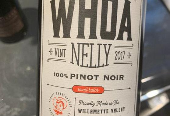 Whoa Nelly Pinot Noir