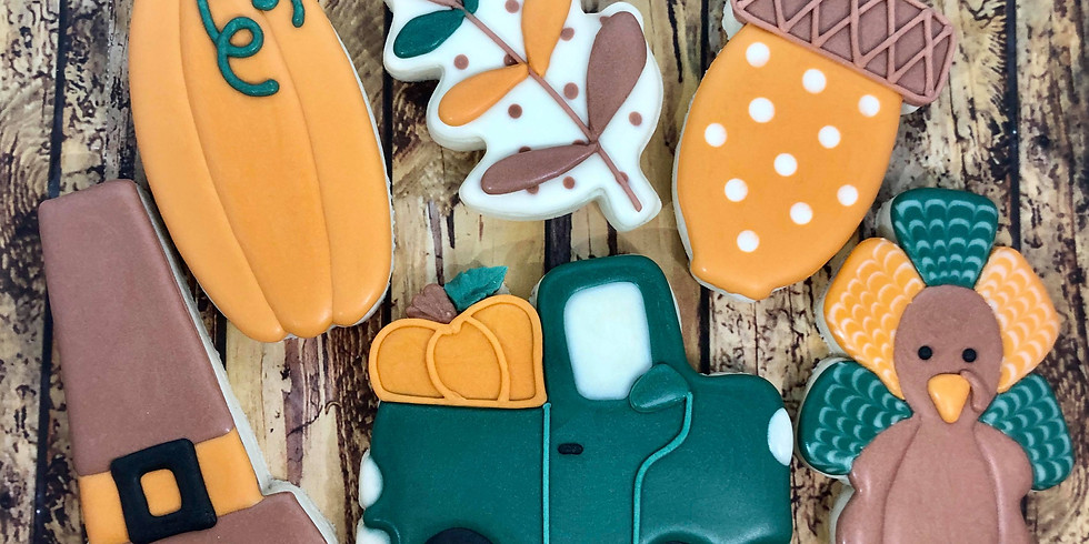 Fall Cookie Decorating