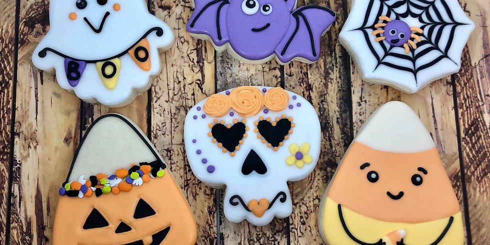 Halloween Cookie Decorating