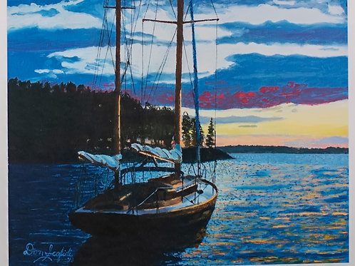 Anchored Evenings
