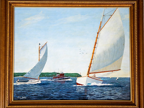 Racing on Long Island Sound