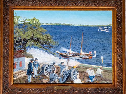1814 Battle of St. Louis Bay
