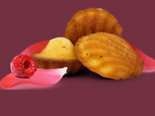 ISPAHAN BOITE DE 8 MADELEINES ROSE-FRAMBOISE 200G
