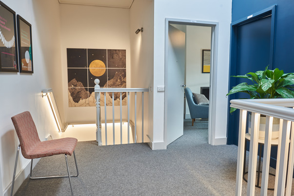Lygon Therapy waiting room 1st floor