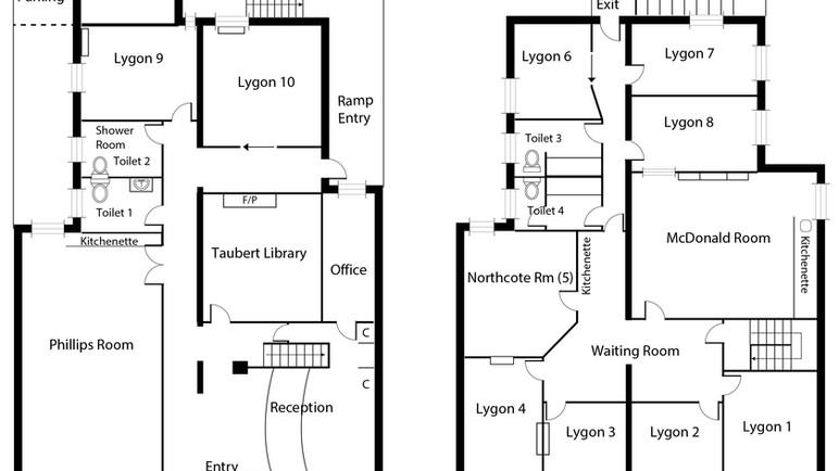 Floor Plan - Lygon Therapy